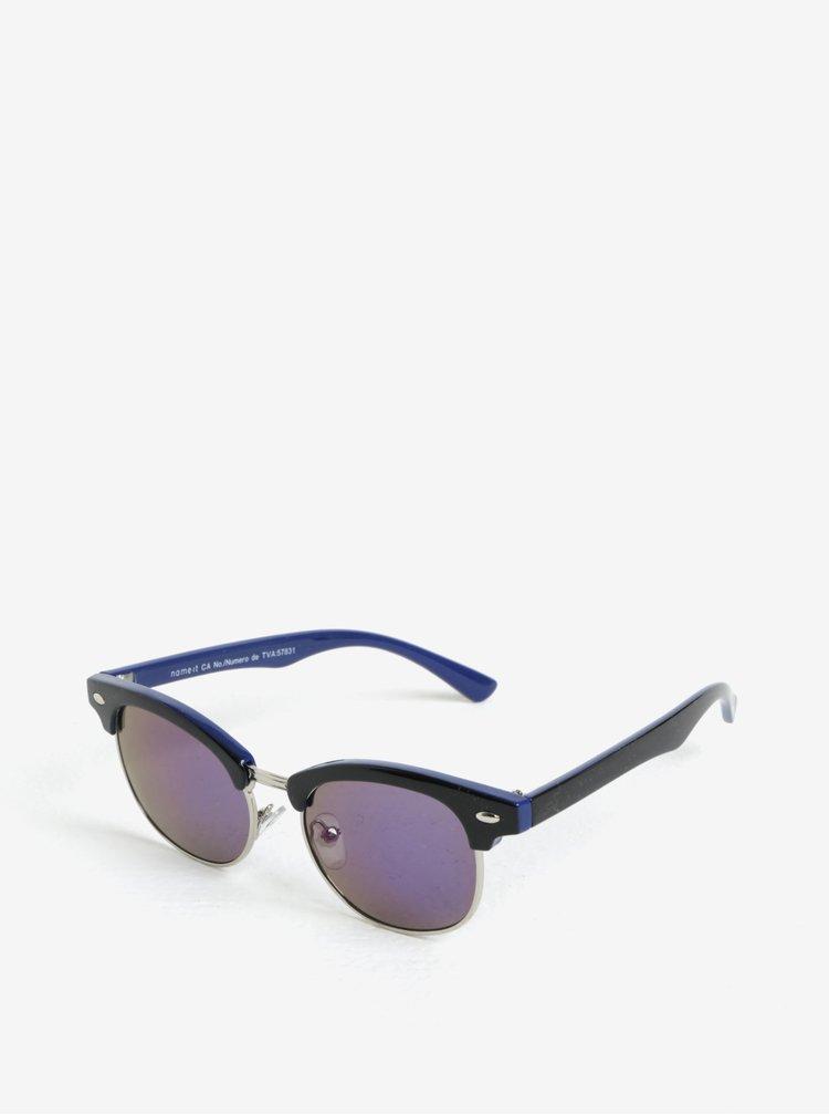 Modro-černé dětské sluneční brýle name it Sun