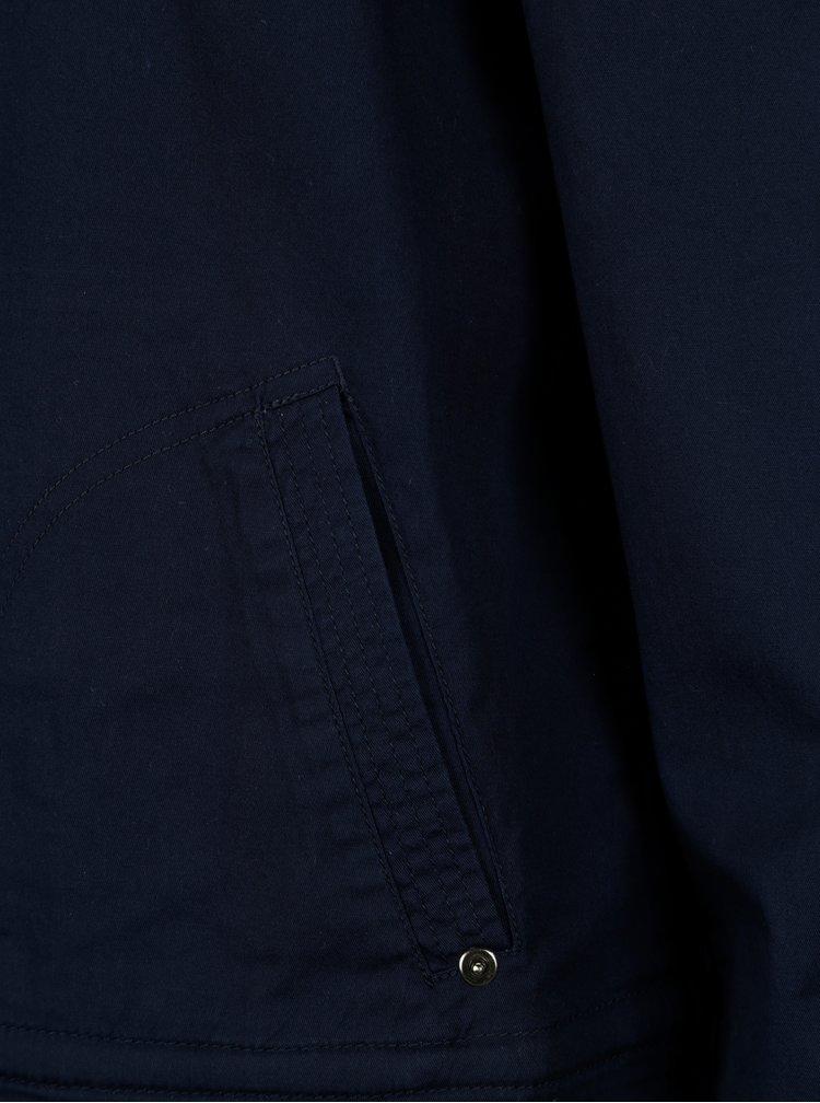 Tmavě modrá lehká krátká bunda Yest