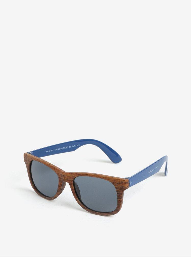 Modro-hnědé klučičí sluneční brýle name it Sun