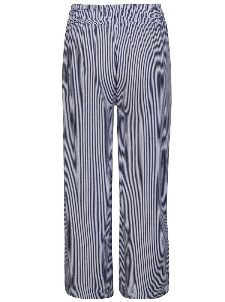 Modro-bílé holčičí pruhované kalhoty LIMITED by name it Simona