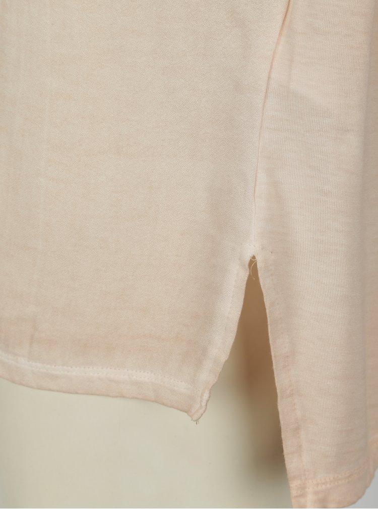 Světle růžové tričko Blendshe Jin