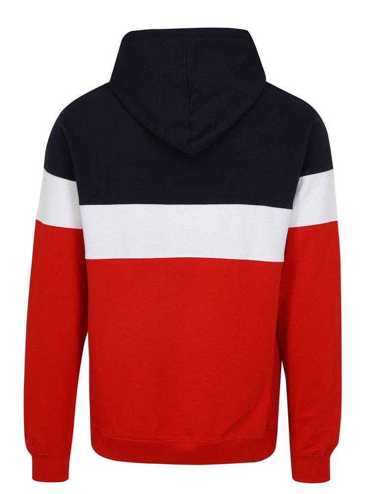 Hanorac in 3 culori cu gluga Dedicated Stripe