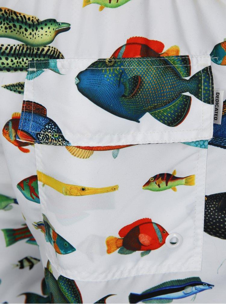 Bermude de baie cu print specii de pesti Dedicated Tropical Fish