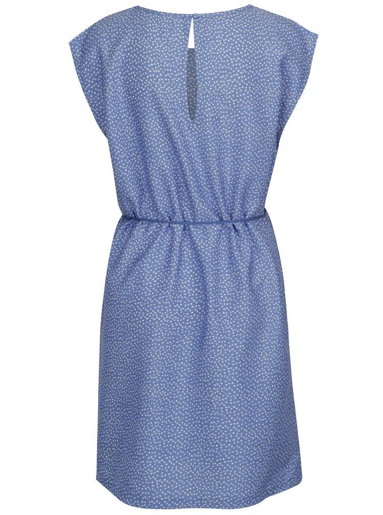 Modré šaty s drobným vzorem Blendshe Mally