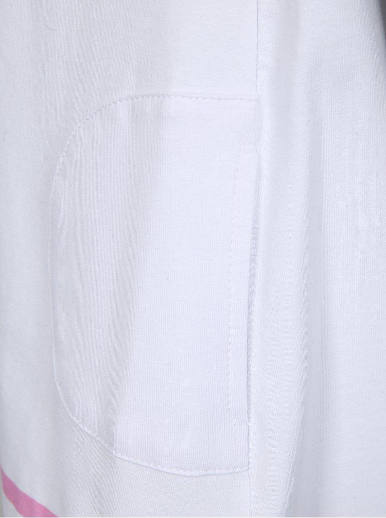 Bílé holčičí šaty s kapsami tuc tuc Jersey