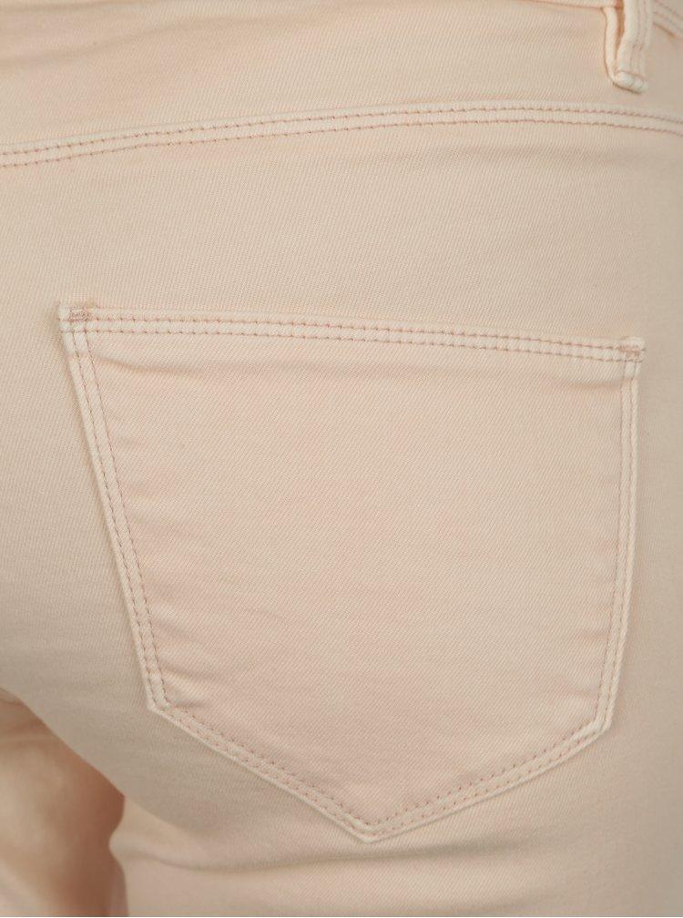 Meruňkové zkrácené slim fit džíny Blendshe Bright Jazy