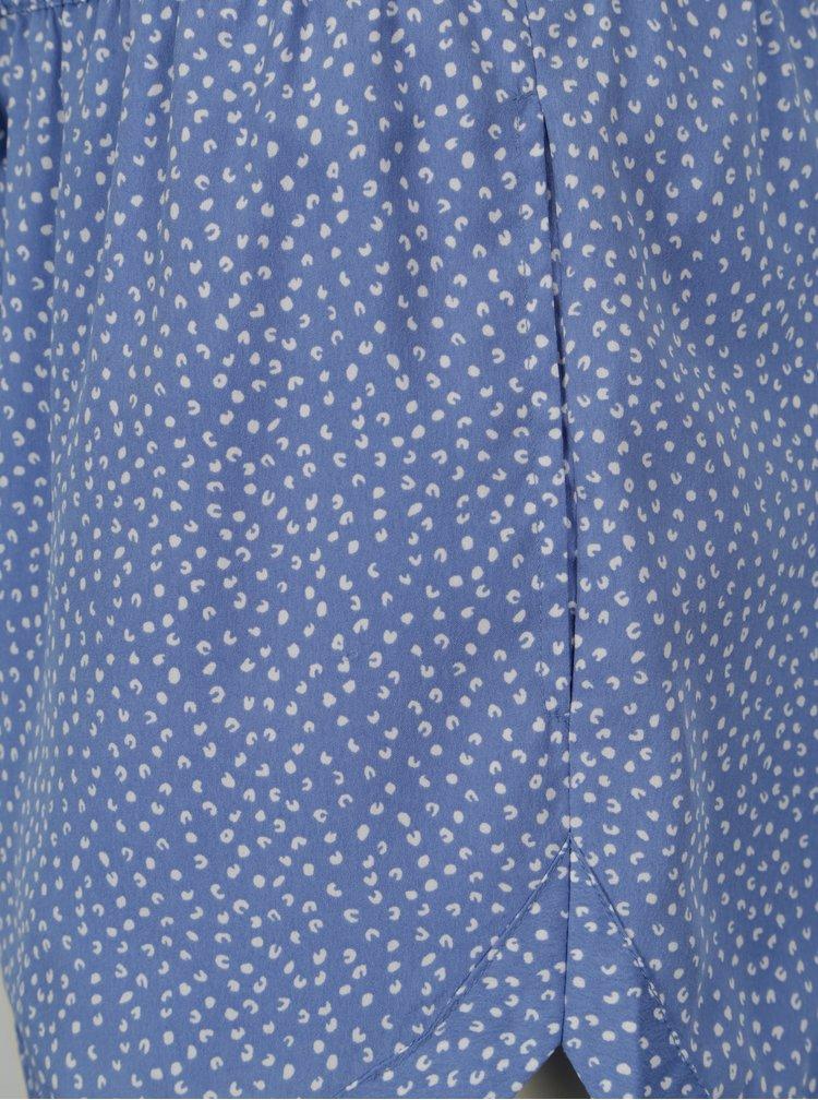 Modré kraťasy s drobným vzorem Blendshe Mally