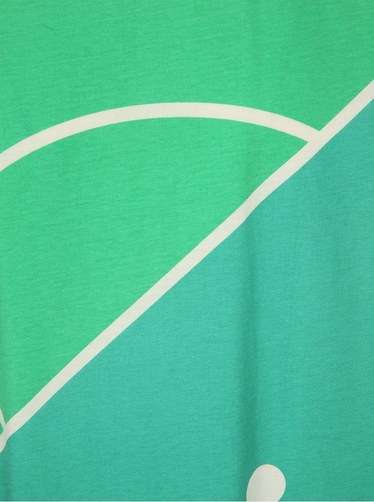 Tricou crem cu print teren de fotbal Dedicated Football field