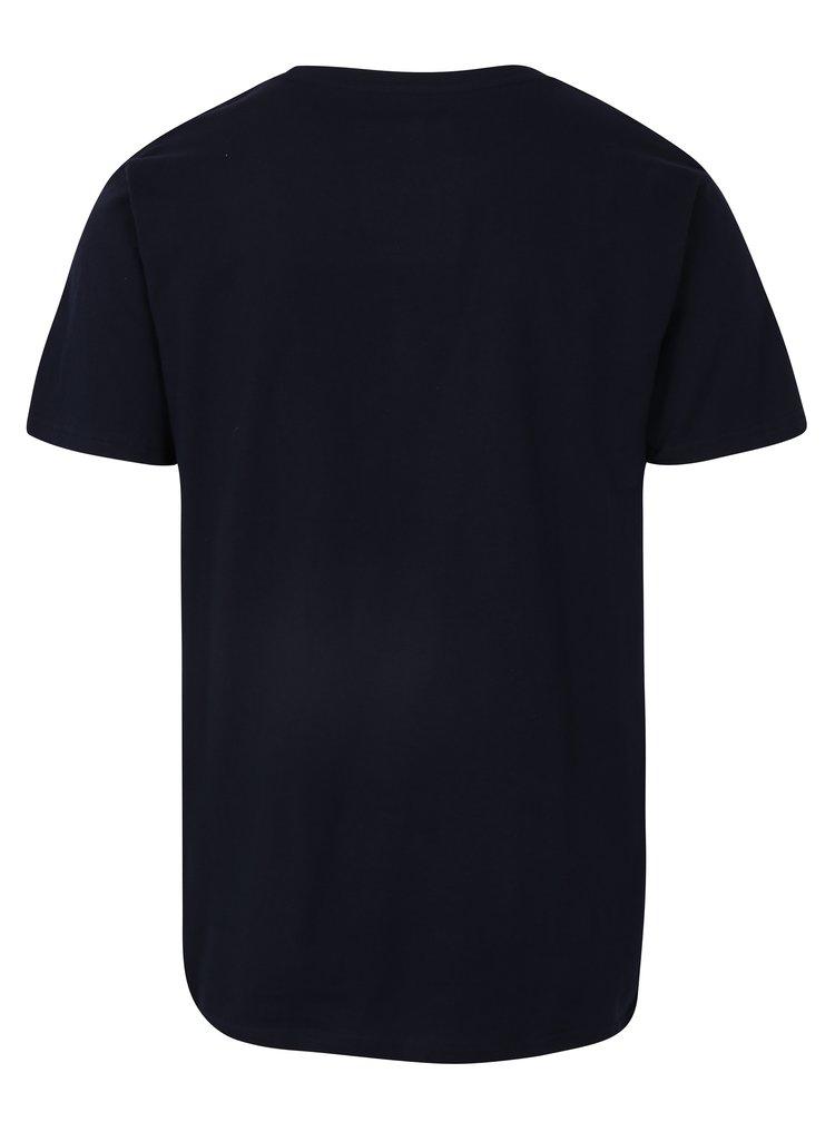 Tmavě modré tričko s výšivkou Dedicated Flying Dollar
