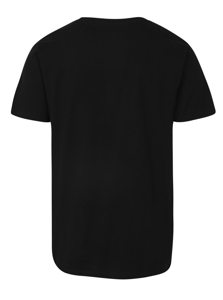 Černé tričko s potiskem Dedicated Scarface trust
