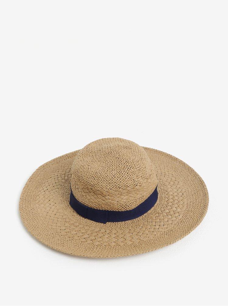 Modro-béžový klobouk Dorothy Perkins