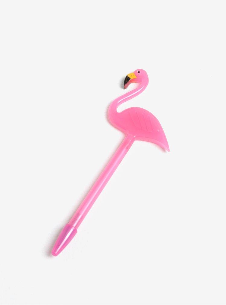 Pix roz cu flamingo - Gift Republic