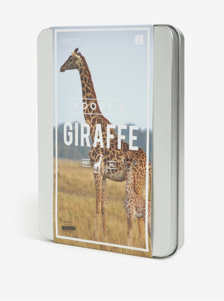 Adoptujte si žirafu Gift Republic