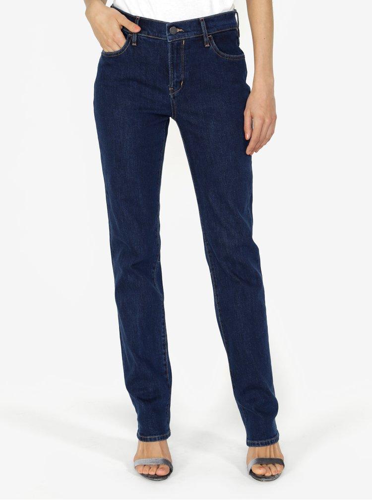 Tmavě modré dámské straight džíny Calvin Klein Jeans