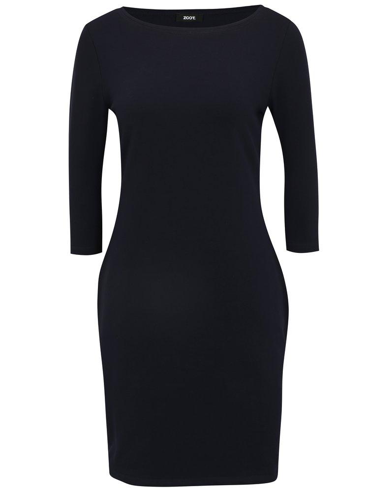 Tmavě modré šaty s 3/4 rukávem ZOOT