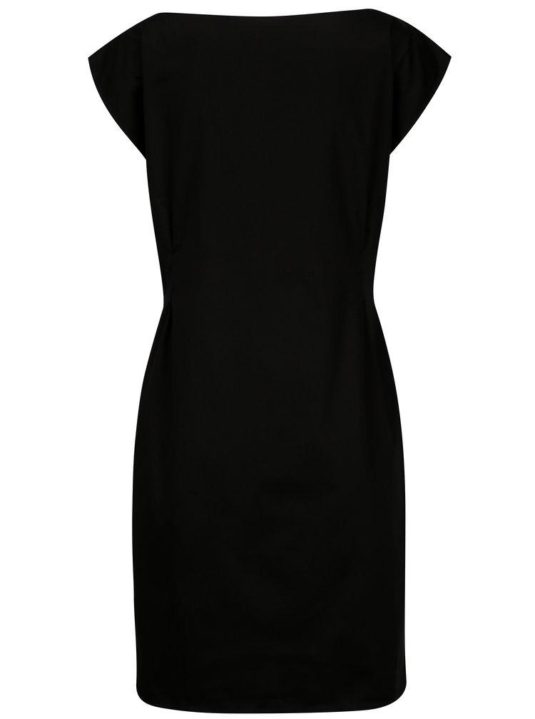 Černé šaty From Kaya with Love Minimalism