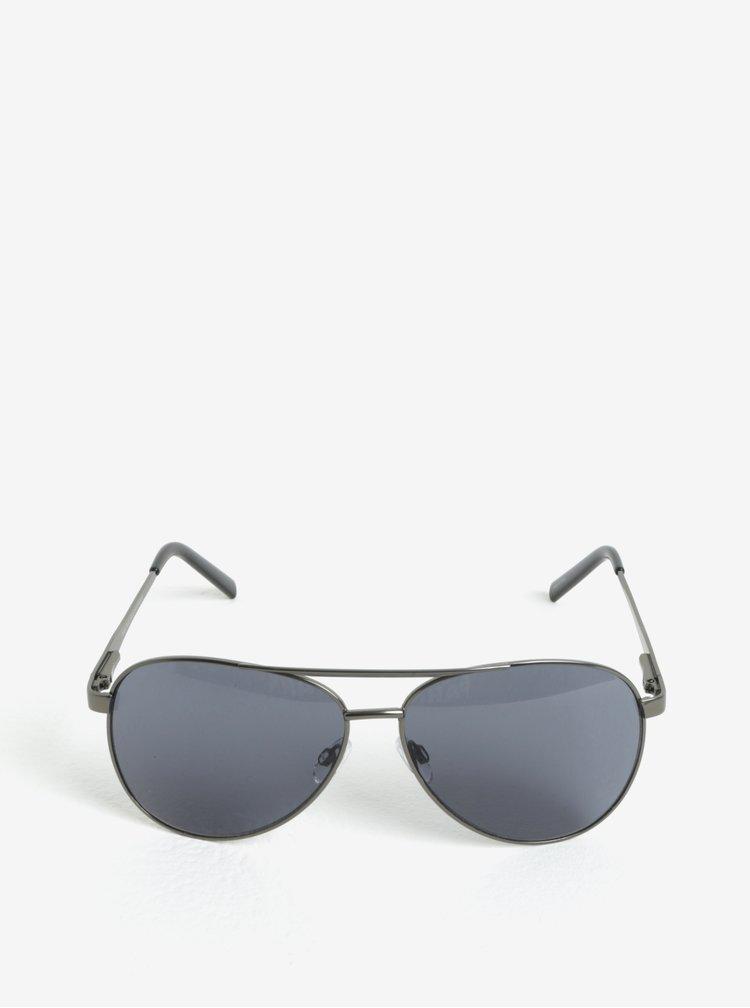 Pilotky s obroučky ve stříbrné barvě Selected Homme Sunday