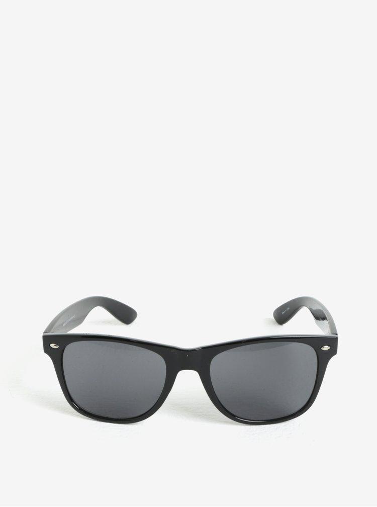 Černé sluneční brýle Selected Homme Sunday