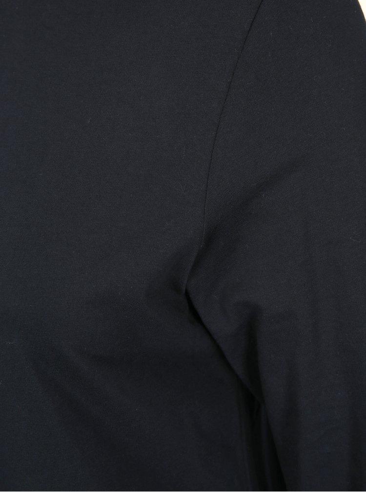Tmavě modré tričko s rolákem Ulla Popken