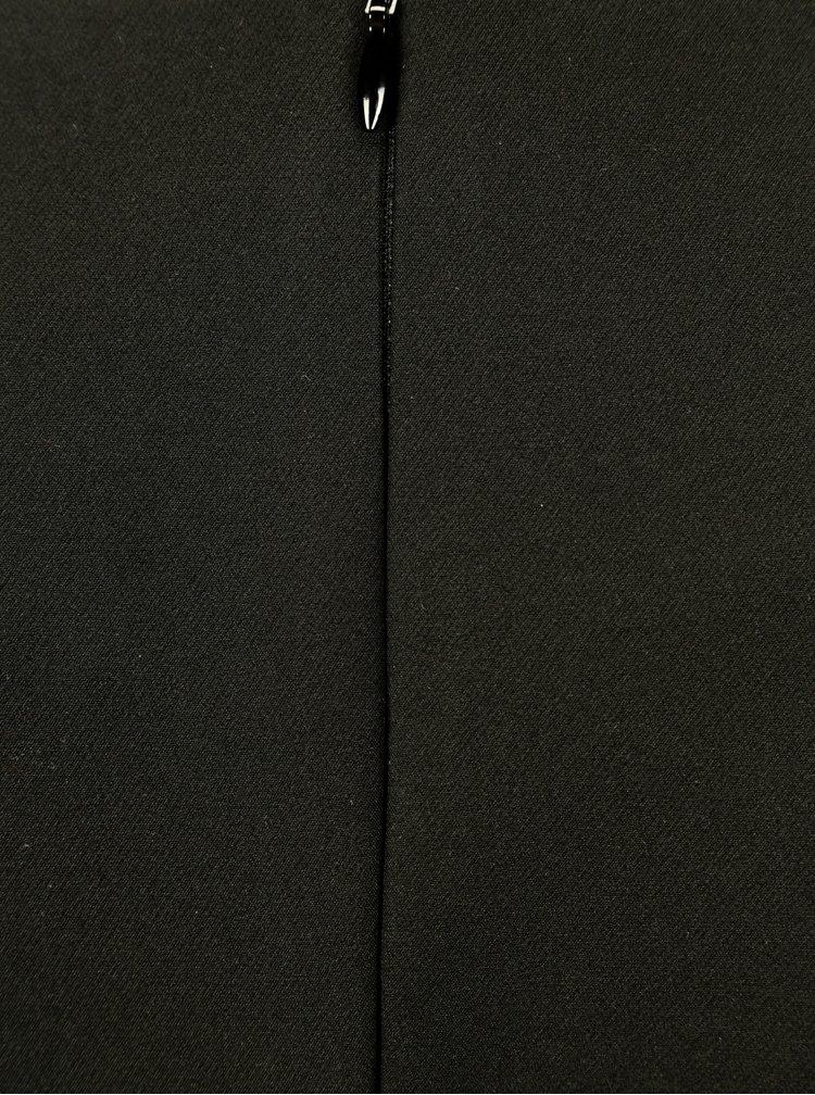 Černá halenka s mašlemi NISSA