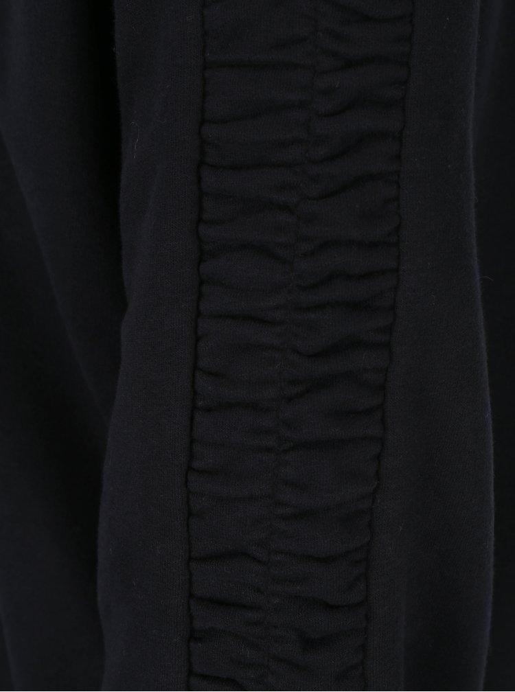 Černá mikina se stahováním na rukávech ONLY Winnie