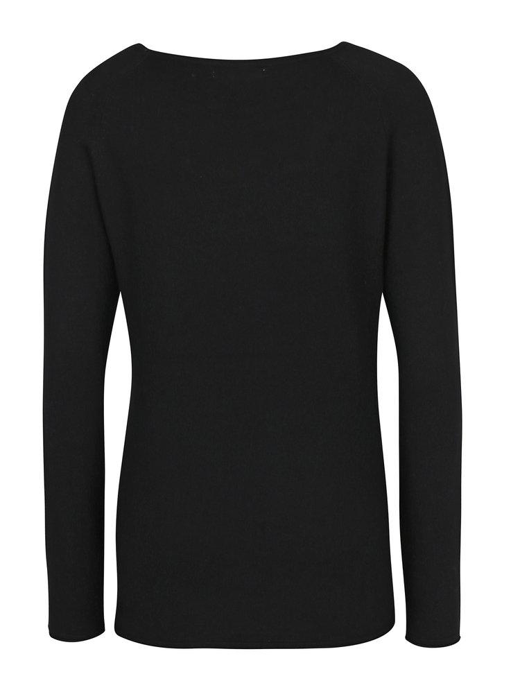 Černý lehký svetr Haily´s Stella