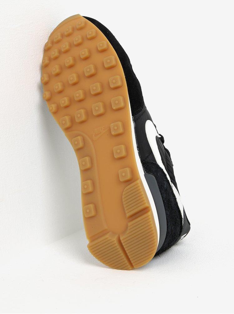 Bílo-černé dámské tenisky se semišovými detaily Nike Internationalist