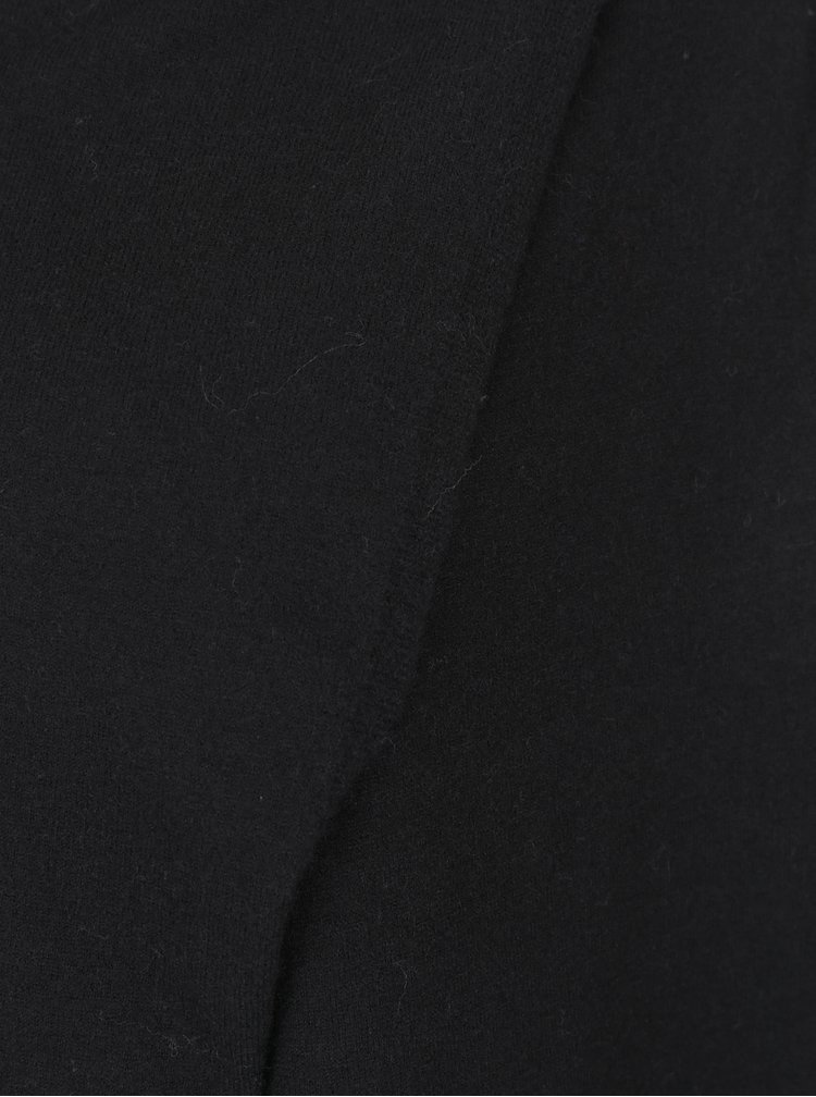 Černý kardigan s asymetrickým zapínáním VERO MODA Karis