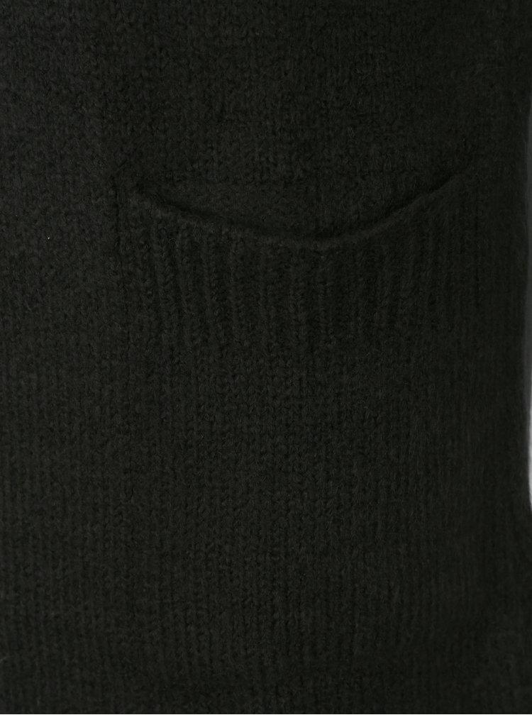 Černý dámský kardigan s kapsami Jimmy Sanders