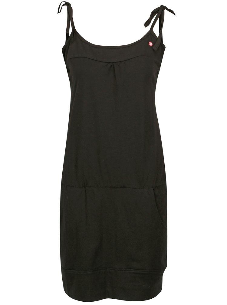 Černé šaty s kapsami LOAP Alara