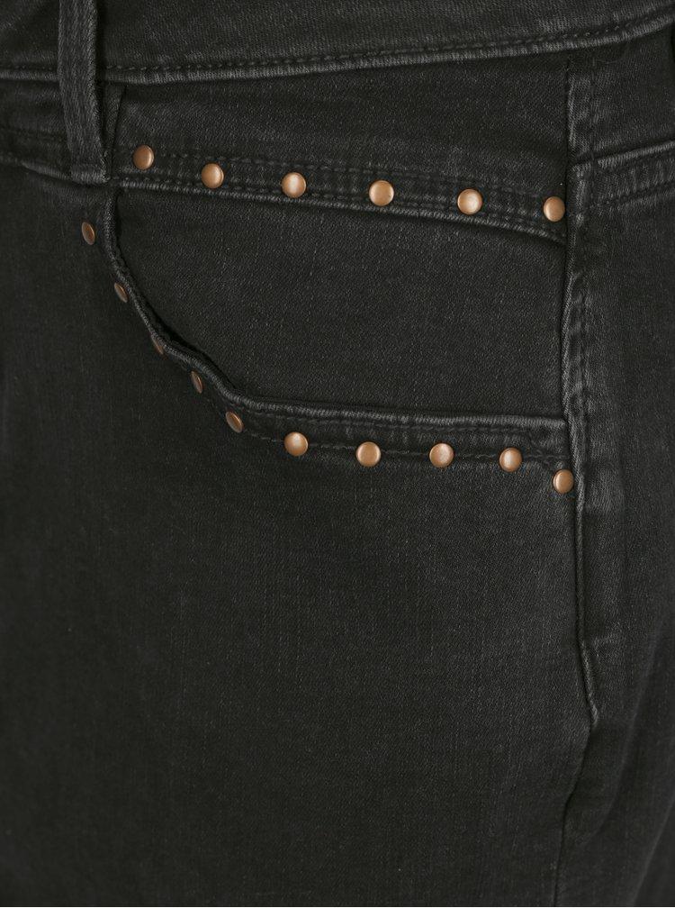 Černá džínová sukně Garcia Jeans