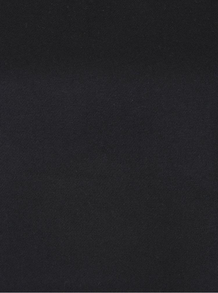 Černá mikina s krajkovým detailem VERO MODA Bessie