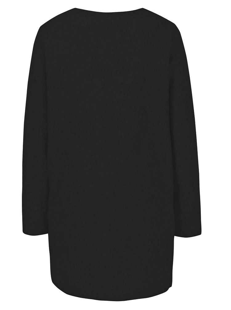 Černý dlouhý kardigan s kapsami VILA Nemo