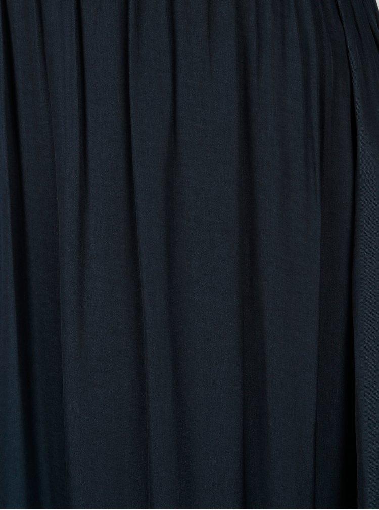 Tmavě modrá těhotenská maxi sukně Mama.licious Marrakech