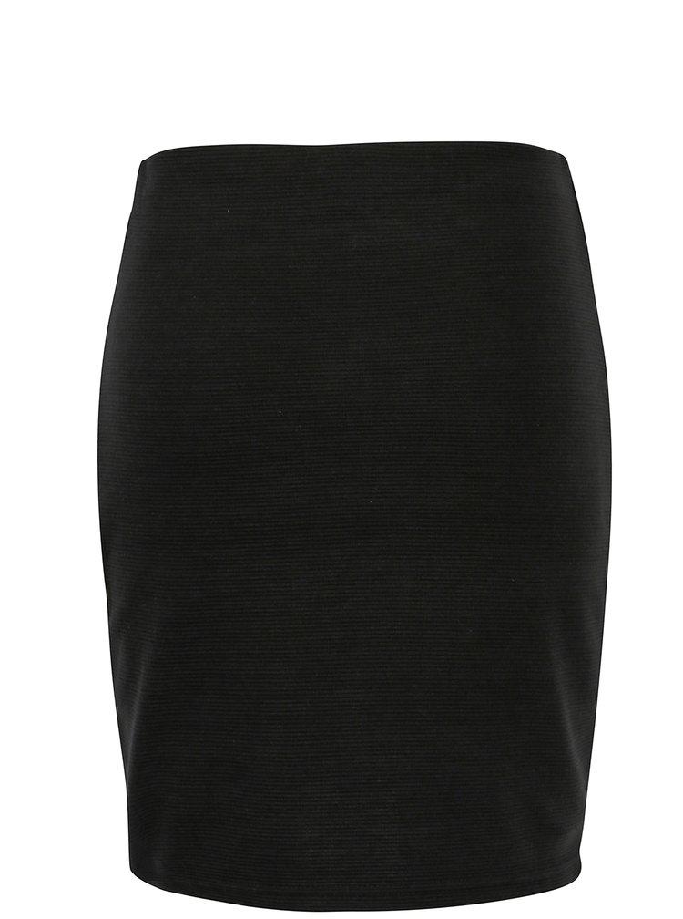 Černá vzorovaná pouzdrová sukně Broadway Bobbi