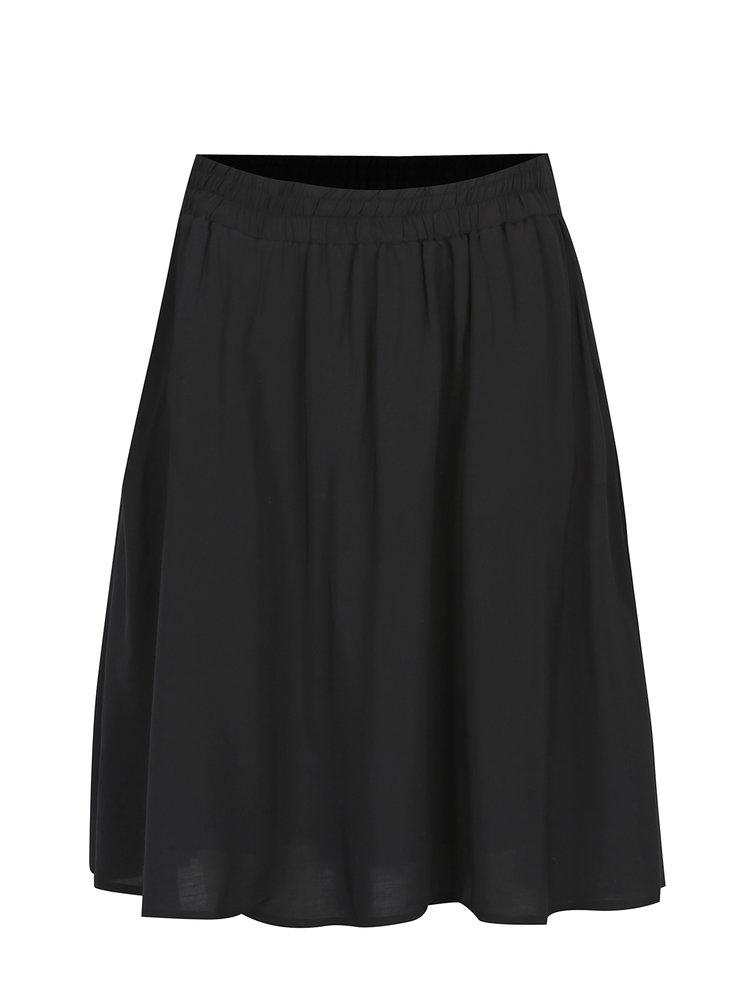 Černá skládaná sukně s kapsami Broadway Diamond