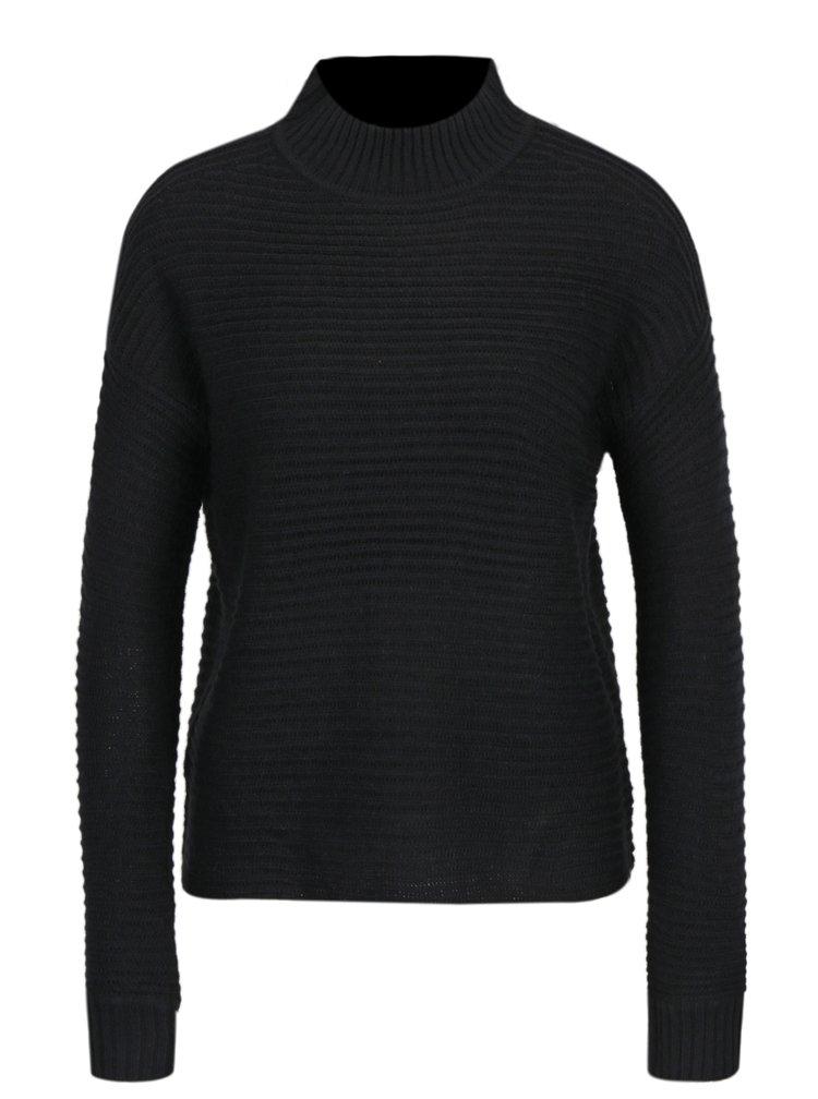 Černý volný svetr Haily´s