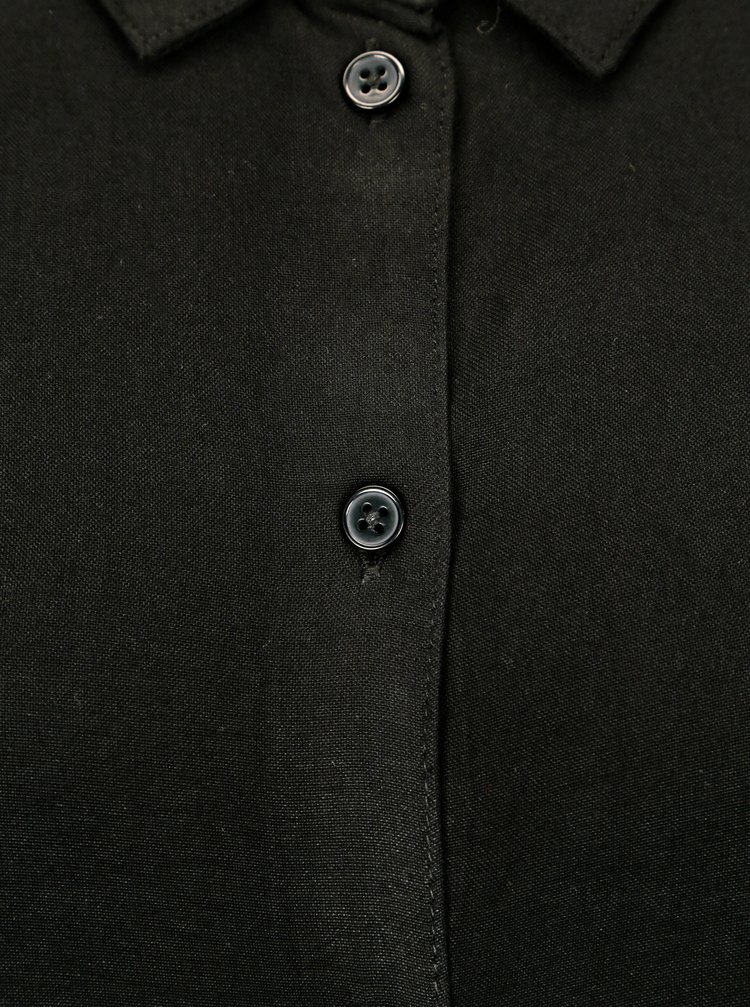 Černá dlouhá košile Jacqueline de Yong Togo