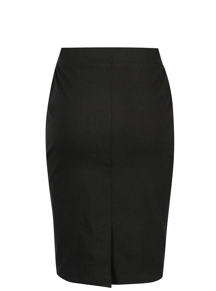 Černá pouzdrová sukně Dorothy Perkins Petite