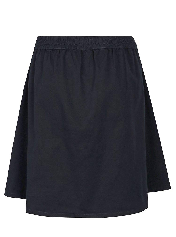 Tmavě modrá skládaná sukně Jacqueline de Yong Power