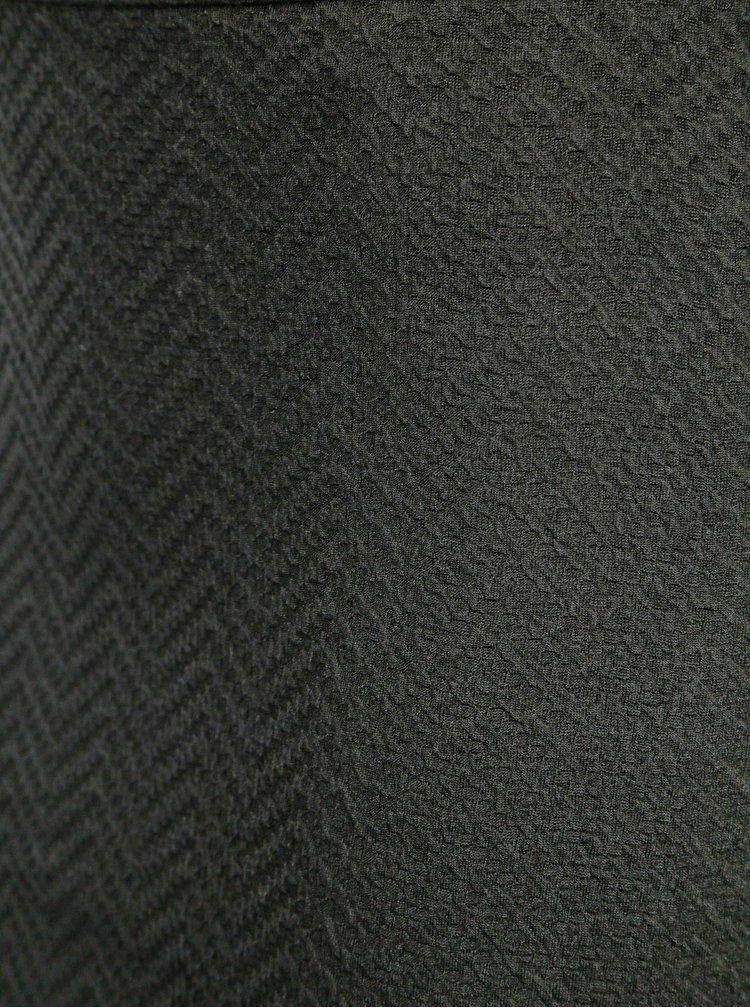 Černá vzorovaná sukně VERO MODA Jazelda