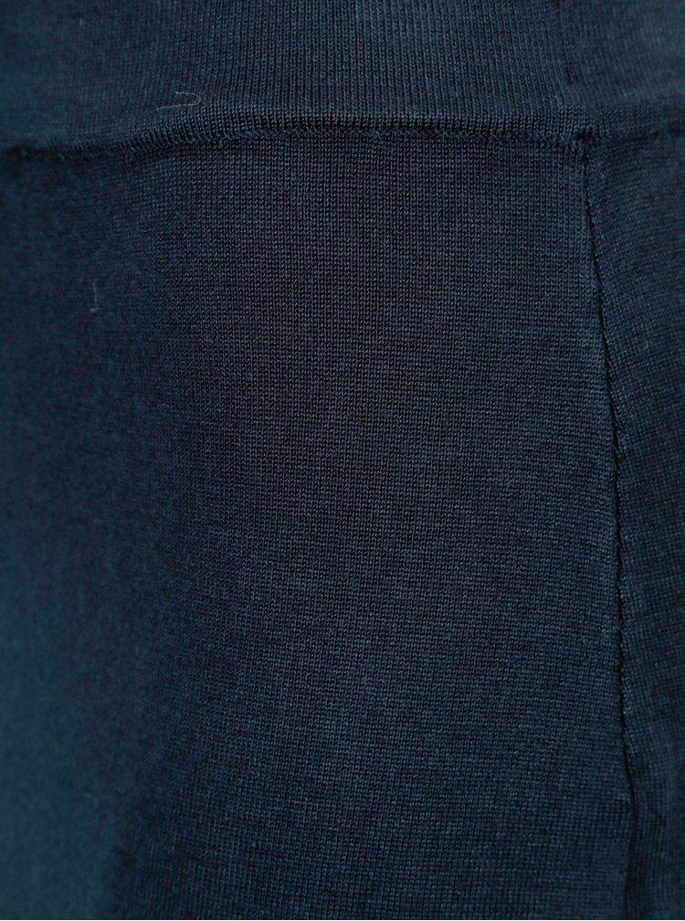 Fusta bleumarin cu talie elastica VILA Gema