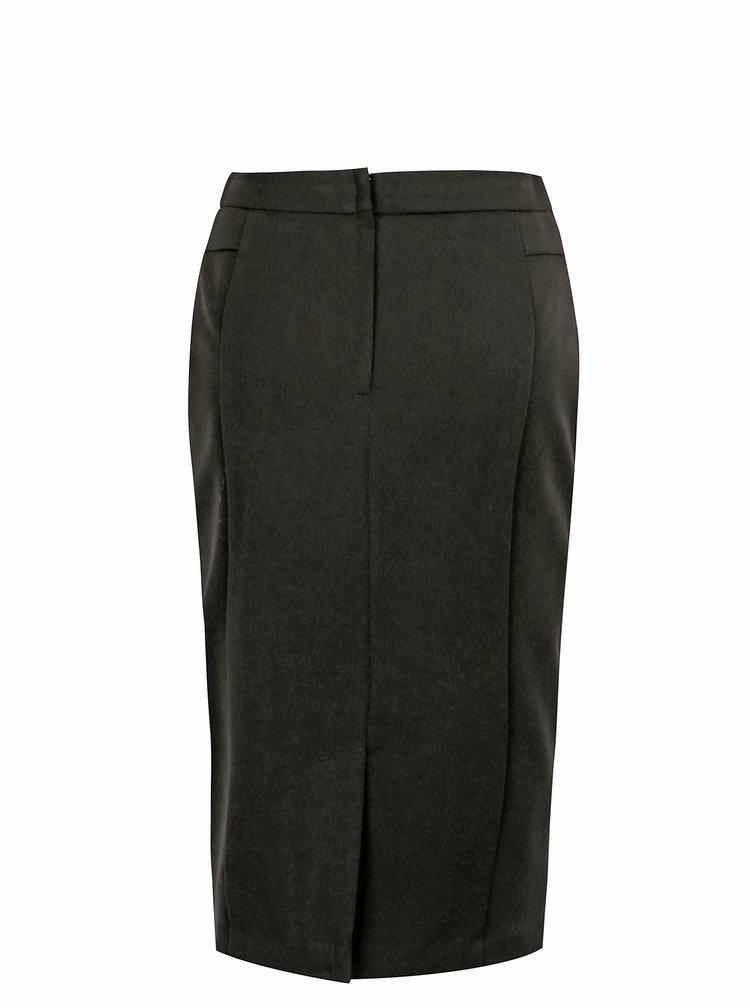 Černá pouzdrová sukně Dorothy Perkins