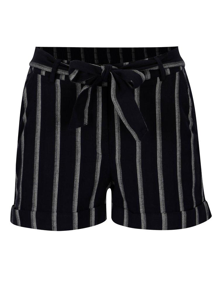 Pantaloni scurti bleumarin in dungi - ONLY Neil