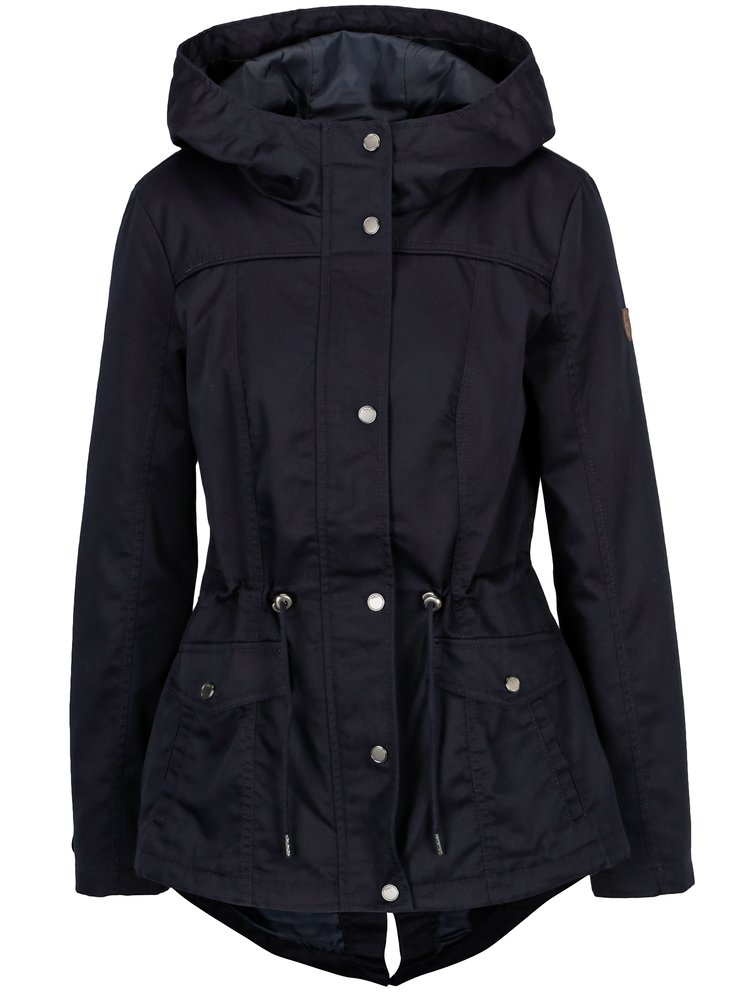 Jacheta parka bleumarin cu gluga - ONLY New Kate