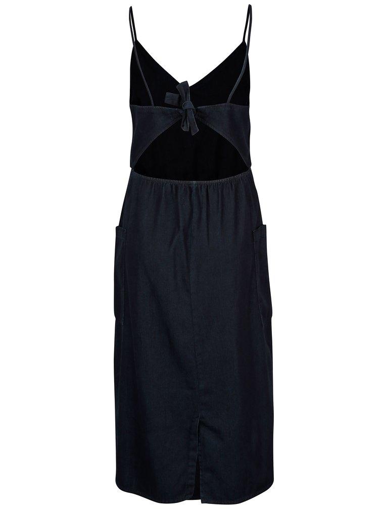 Rochie albastru inchis Dorothy Perkins cu buzunare