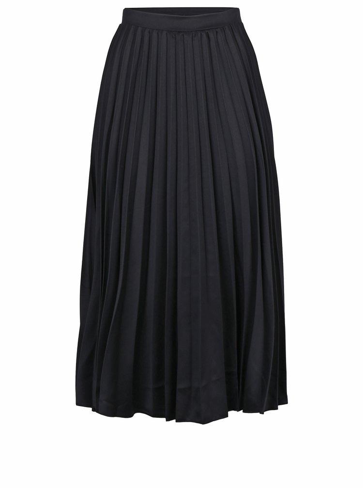 Černá plisovaná midi sukně ZOOT