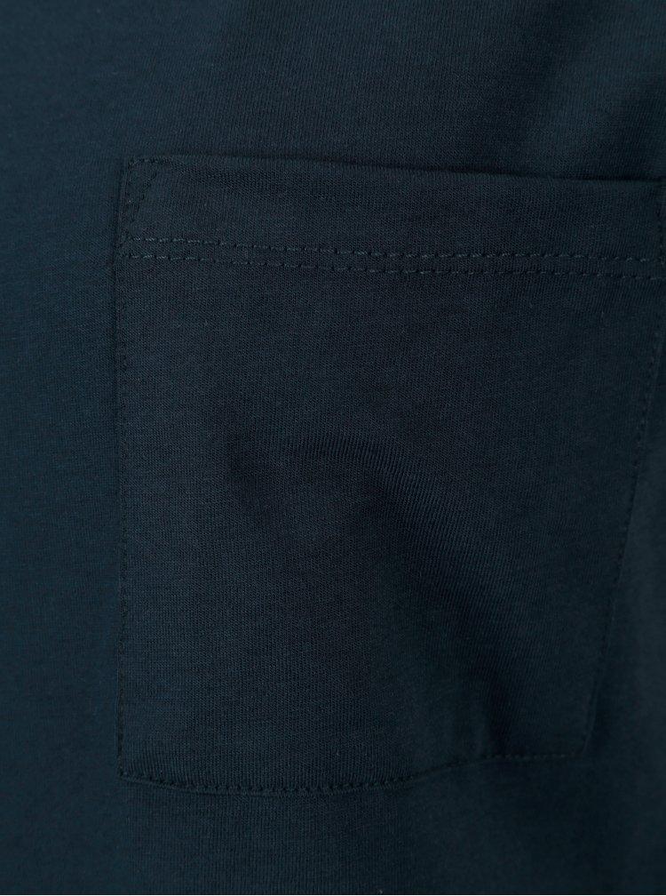 Tmavě modré volné basic šaty s kapsou VILA Dreamers
