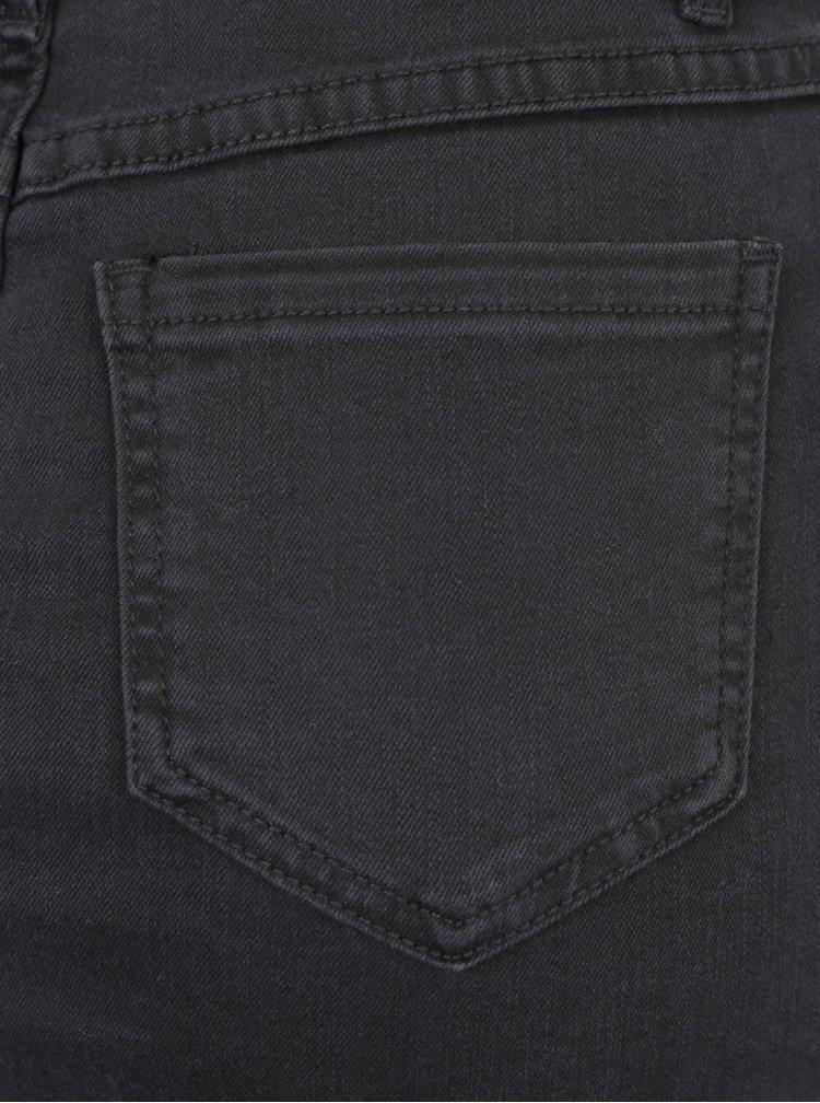 Černá džínová sukně VILA Junas