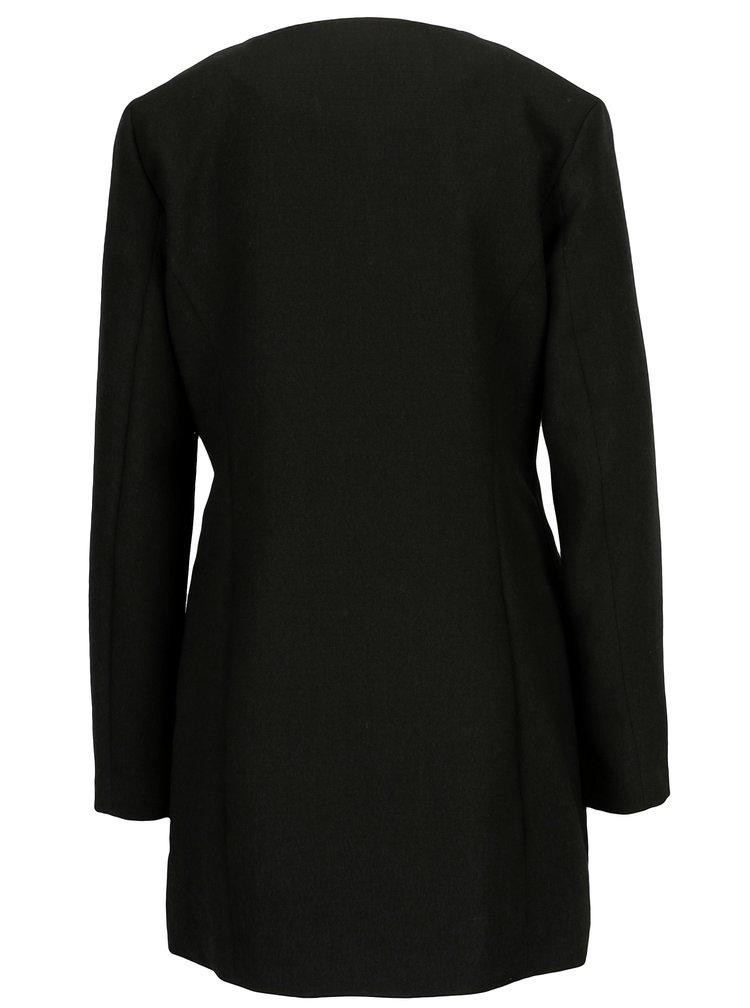 Černý lehký kabát Jacqueline de Yong New Brighton